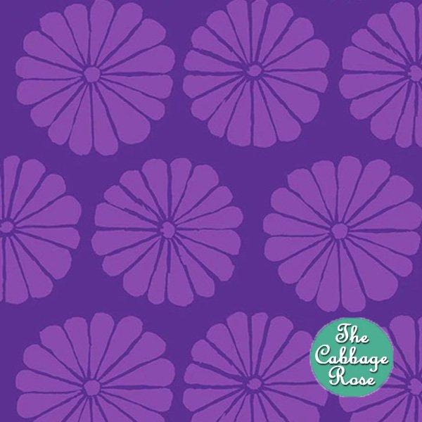 Damask Flower Purple