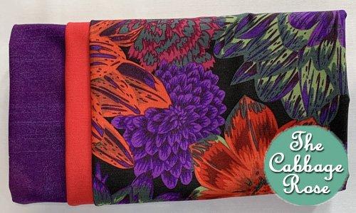 Pillowcase kit - Royal Colors Garden