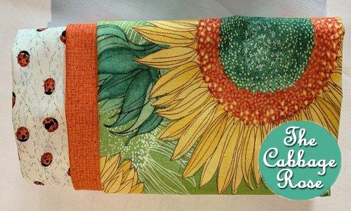 Pillowcase kit - Sunflowers & Ladybugs