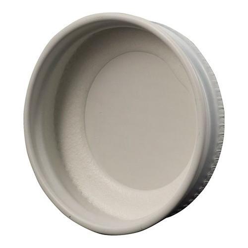 White Metal Screw Caps, 28mm, b