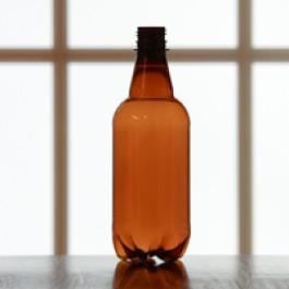 PET 1/2 Liter Beer Bottles