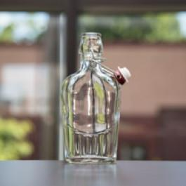 8 oz Flask with Flip Top, 30 per case