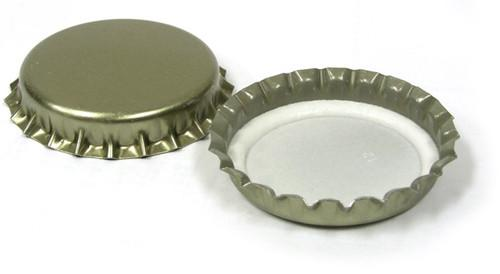 29 mm Gold Crown Caps