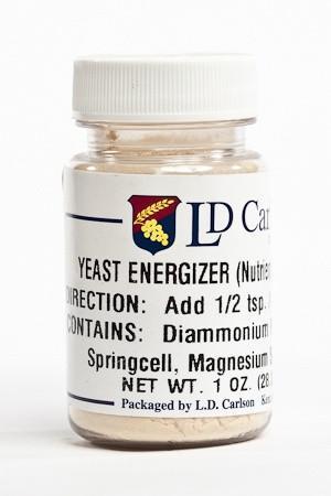 Yeast Energizer Powder 1 oz
