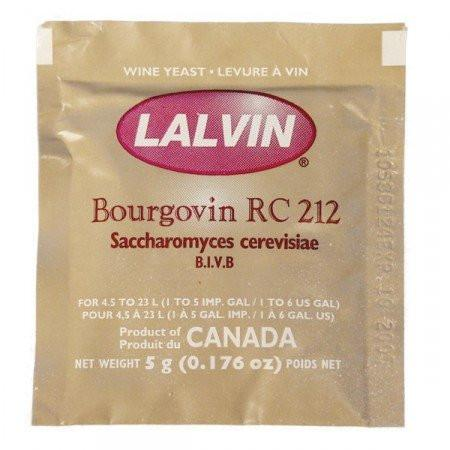 Lalvin RC-212 Red Wine Yeast