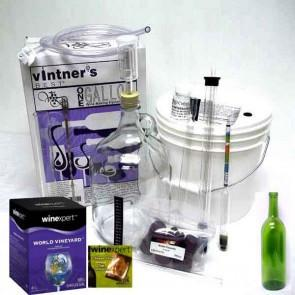 Combo Kit for 1 Gallon Wine Making