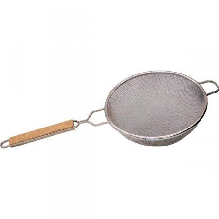 Strainer: Stainless Steel, 8 D