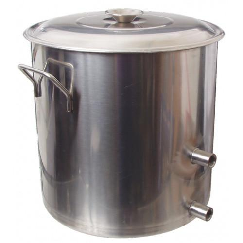 8.5 Gallon Stainless Brew Kettle w/ Couplers