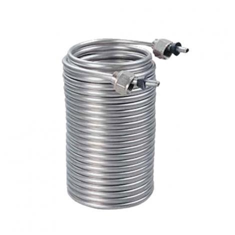 SS coil for jockey box