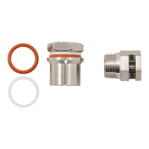 Ss BrewTech WhirlPool Fitting - 1/2 MPT
