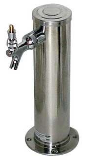 Tower, 3 diameter 1 faucet