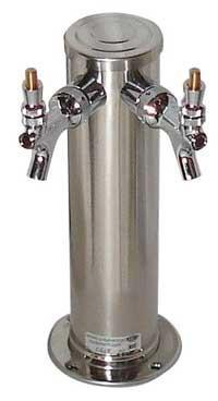 Tower, 3 diameter, 2 faucets