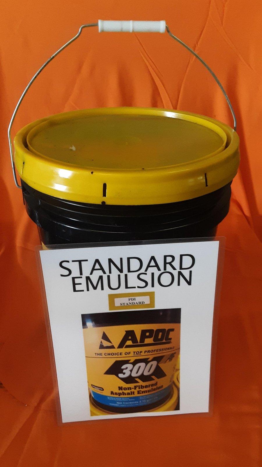 Standard Asphalt Emulsion - 5 Gallon Bucket
