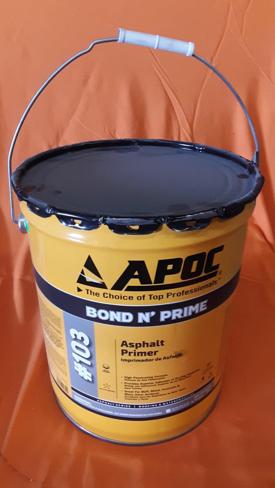 Asphalt Primer - 5 Gallon Bucket