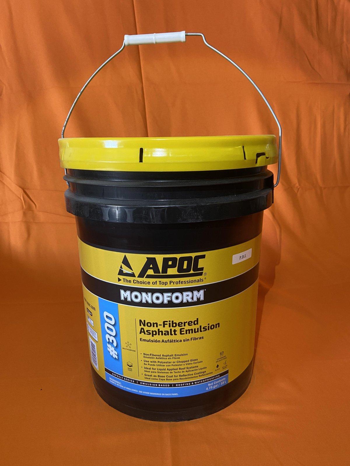 Plastic Asphalt Emulsion - 5 Gallon Bucket