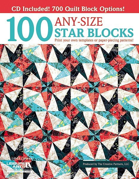 100 Any Size Star Blocks w/CD