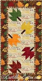 Falling Leaves Table Runner