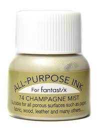 All Purpose Ink Metallic Champange Mist 12oz