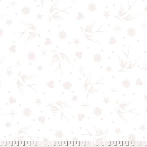 Tula Pink  - Linework: FAIRY FLAKES PAPER