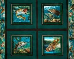 Stillwater Fish - Pillow Panel