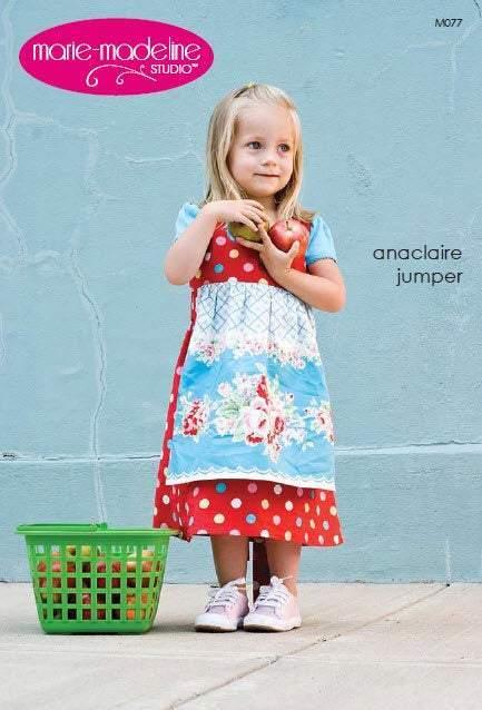 Anaclaire Girls Jumper Pattern by Marie Madeleine Studios