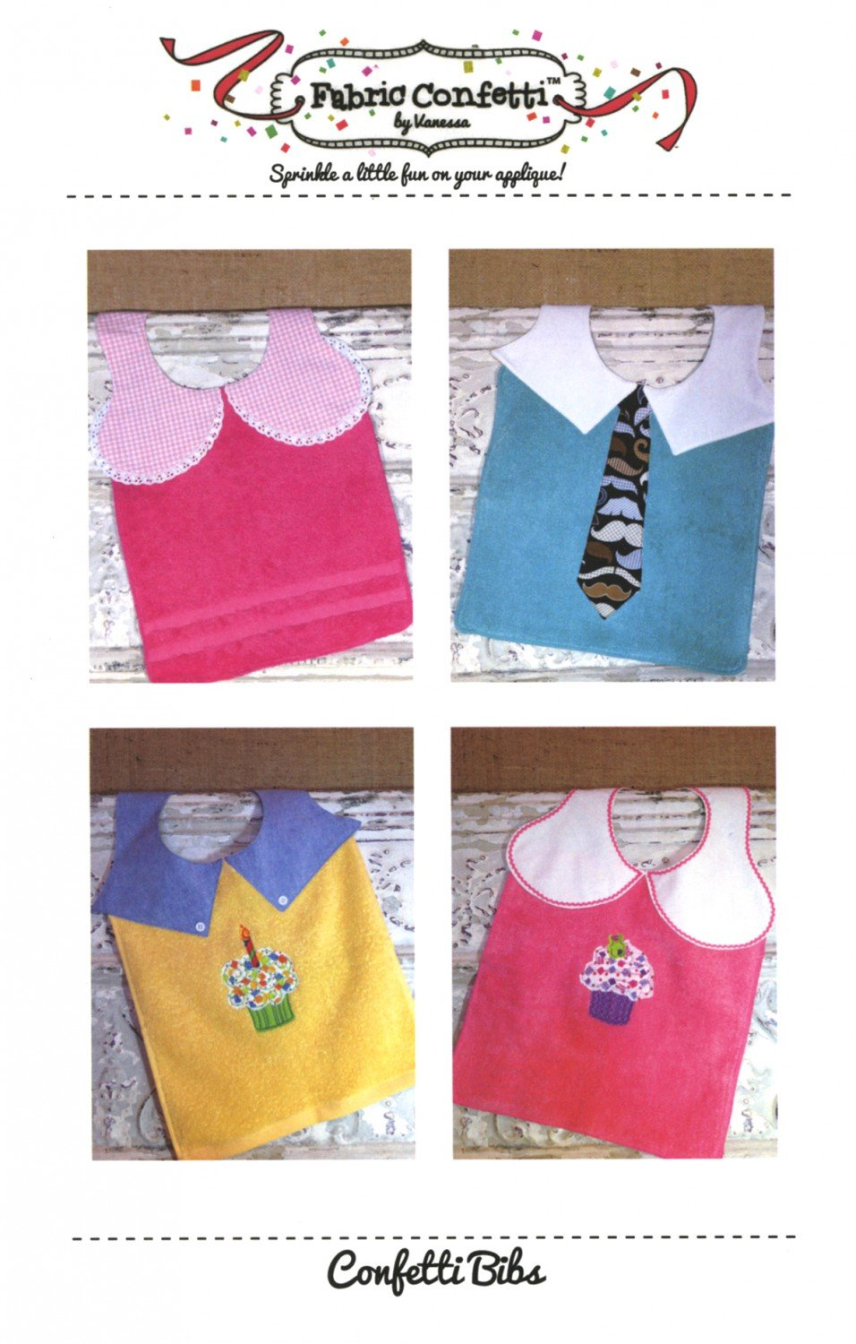 Baby Bibs Pattern from Fabric Confetti