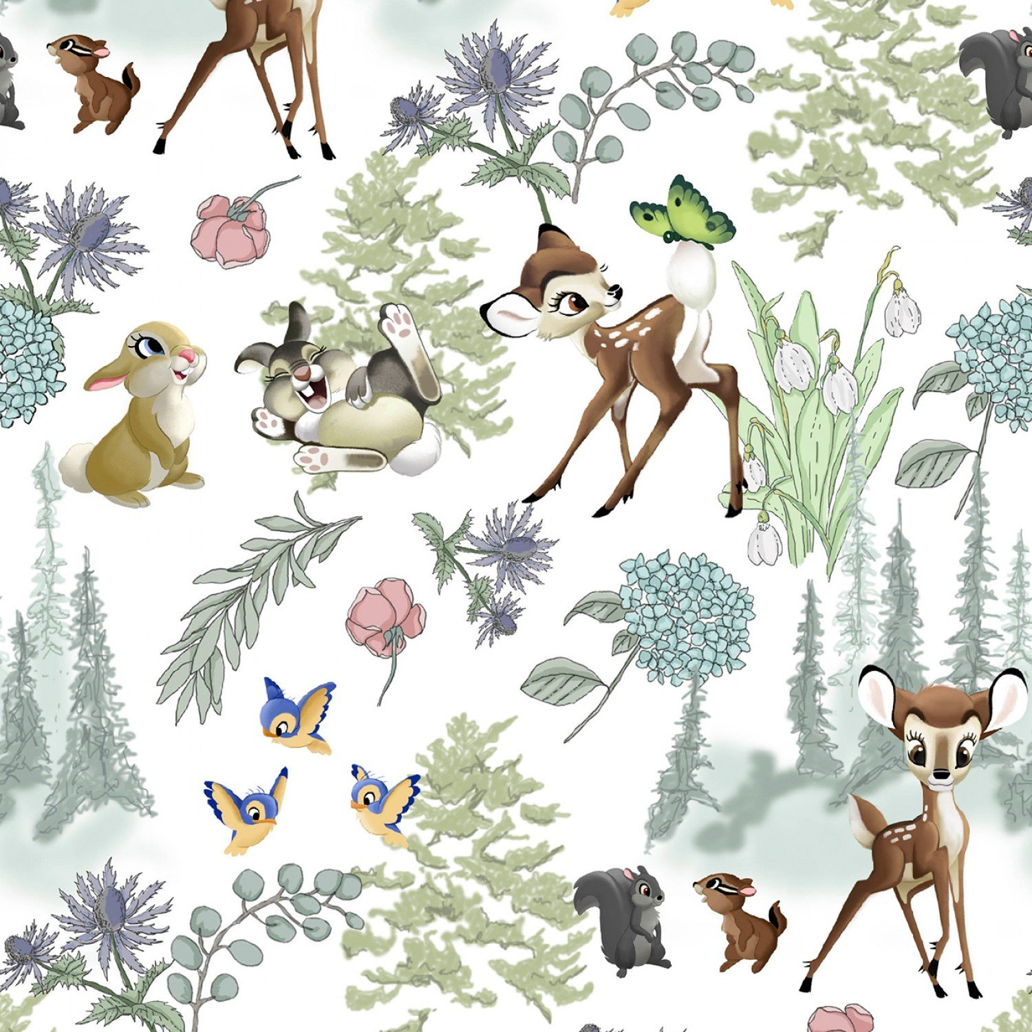 Bambi and Friends Children's Fabrics by Disney for Springs Creative