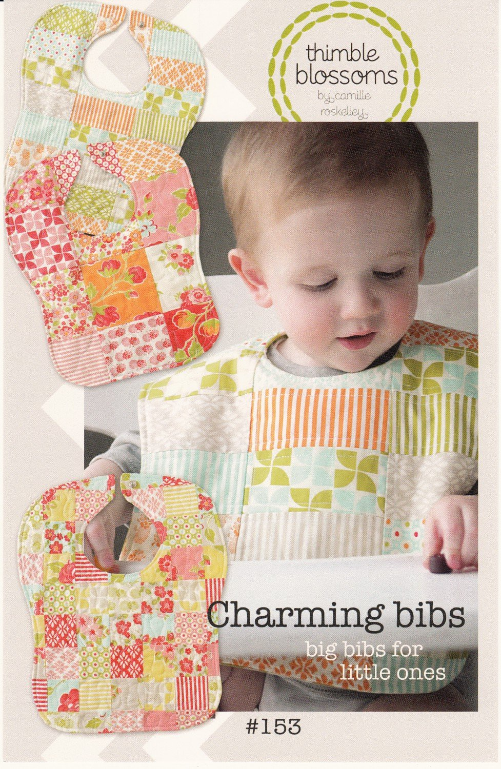 Charming Bibs Baby Bibs Pattern from Thimble Blossoms Patterns