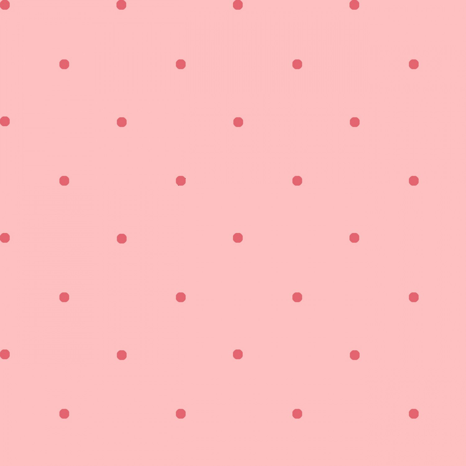 Children's Reproduction Fabrics Pink Petite Dots Cotton Yardage
