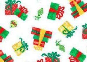 Christmas Holiday Fabric from A E Nathan 44-45 Inches Wide