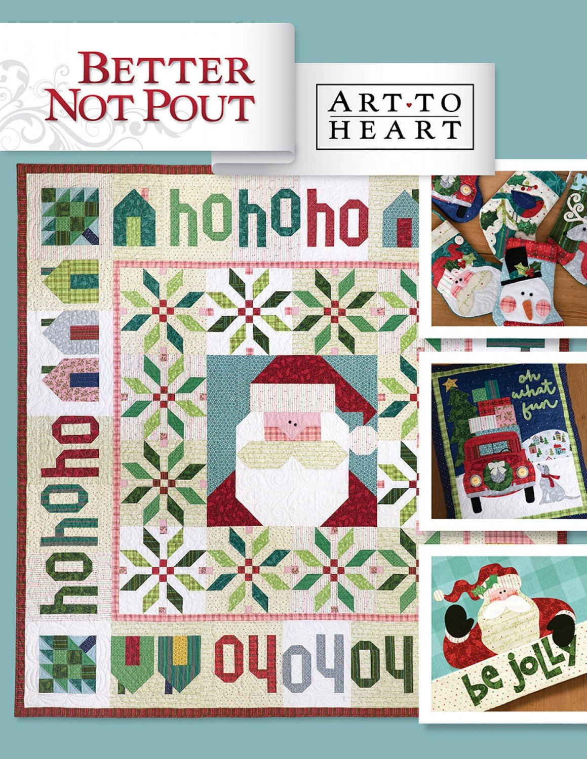 Christmas Themed Quilt Patterns Better Not Pout Complete Instructions