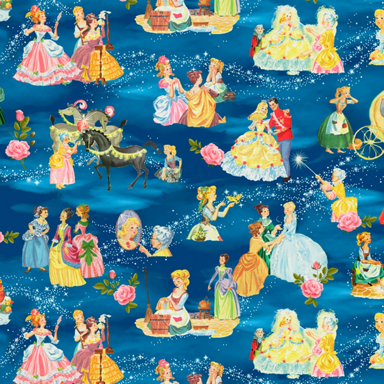 Cinderella's Tale Children's Fabric Yardage