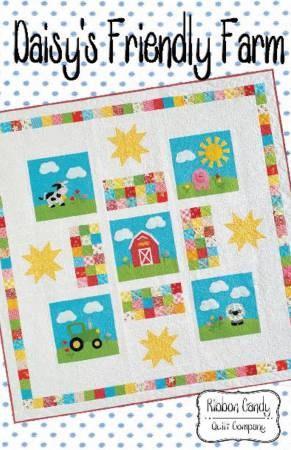 Daisy's Friendly Farm Children's Quilt Patterns 60 x 60 Inches