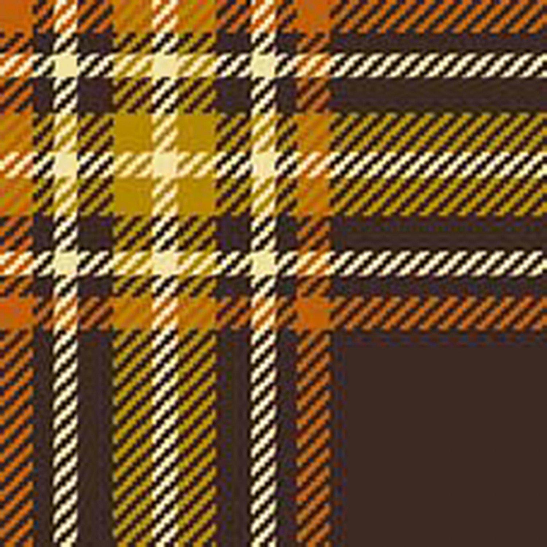 Fall Plaid Cotton Fabric Yardage