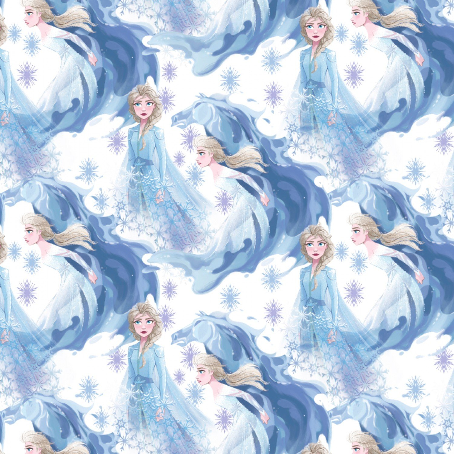 Frozen 2 Elsa And Anna Fabric from Disney for Springs Creative