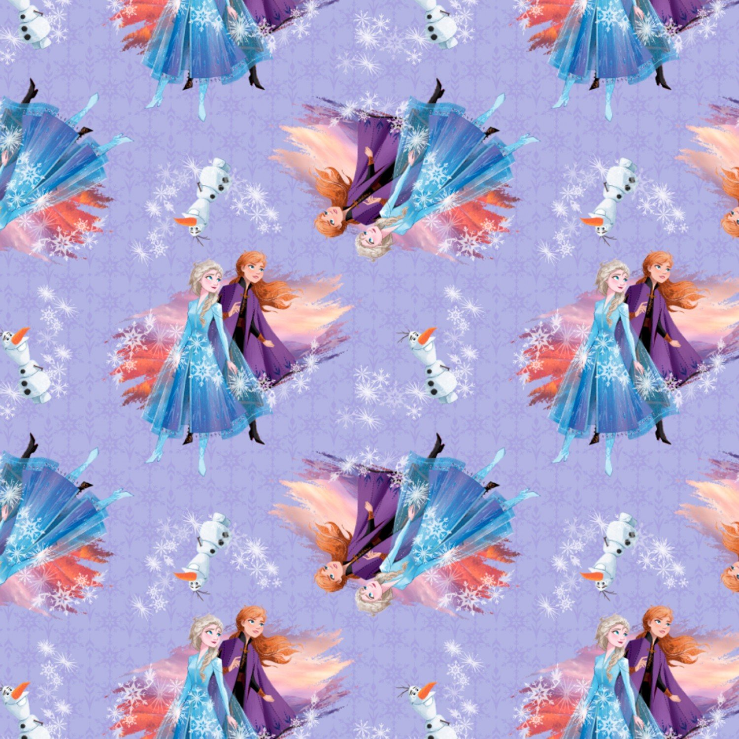 Frozen 2 Fabric Destiny Awaits Children's Fabric Yardage Cotton