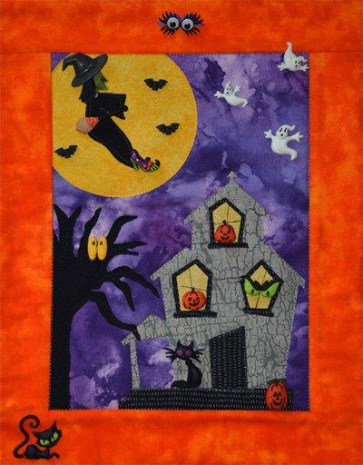 Haunted Halloween Quilt Pattern by Mouse Blankets