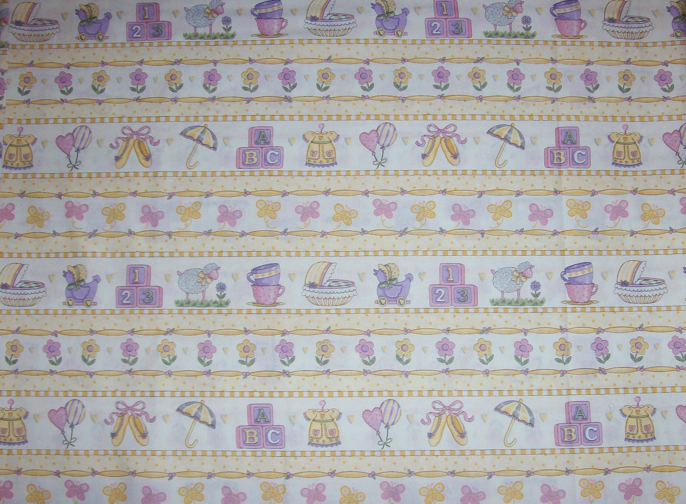 It's A Girl Children's Fabric Yardage by Deb Strain for Moda