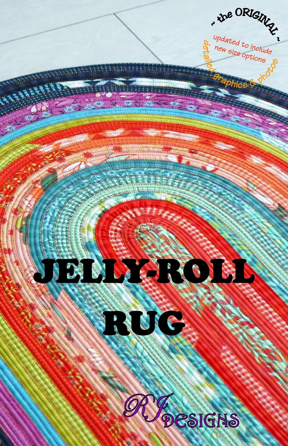 Jelly Roll Rug Pattern From R.J. Designs By Roma Lambson