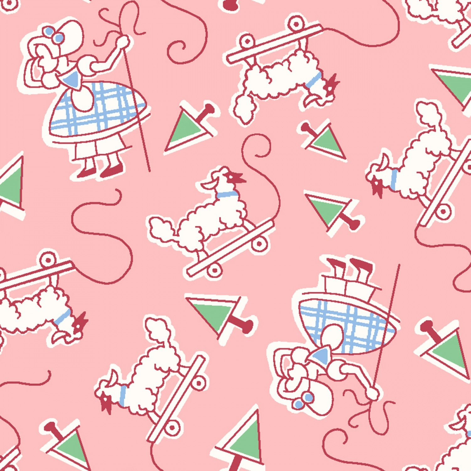 Little Bo Peep Nursery Rhymes Children's Fabric from Story Time Fabric Line
