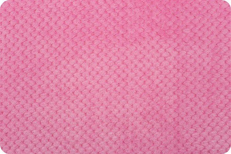 Minky Hot Pink Cloud Spa Minky Children's Fabric by Shannon Fabrics