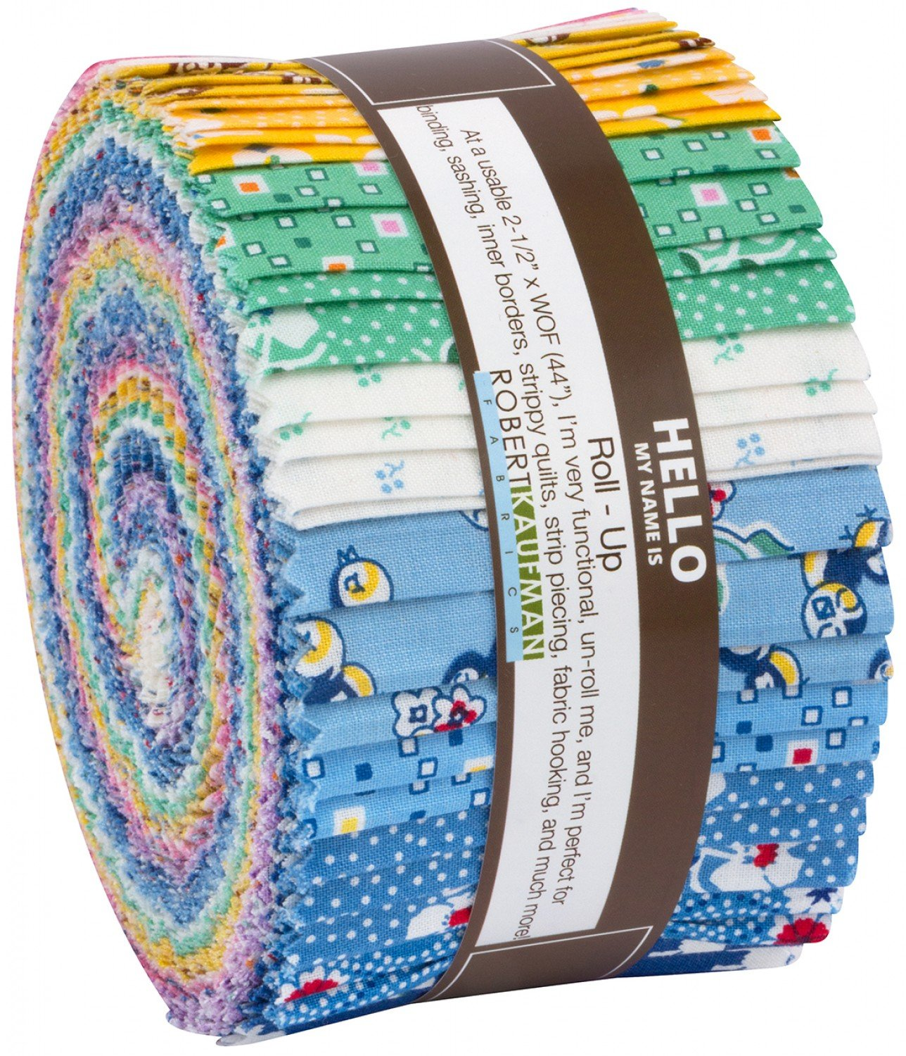 Naptime Children's Reproduction Fabrics Roll-Ups from 2/12 Inch Strips