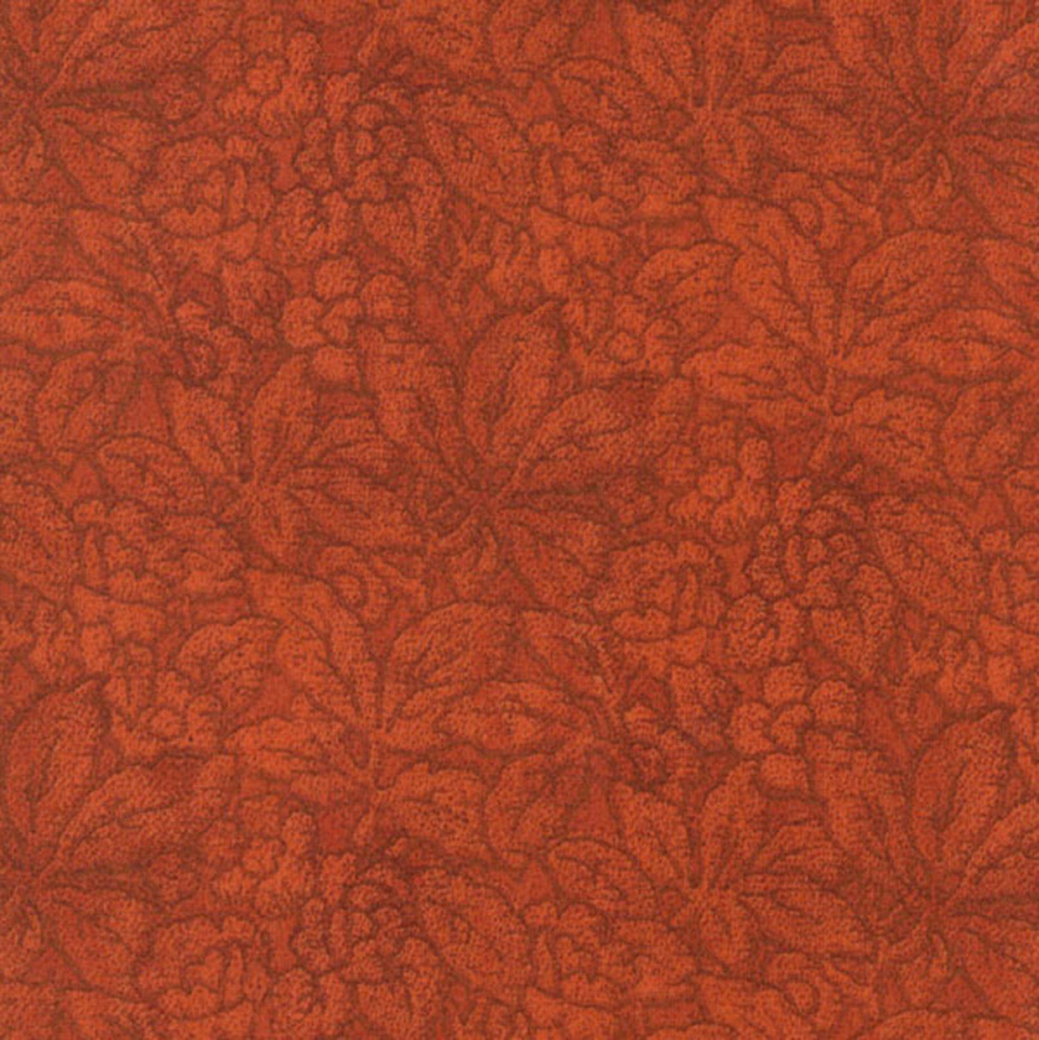 Orange Leaves Fall Fabric from Jinny Beyer Palette Collection