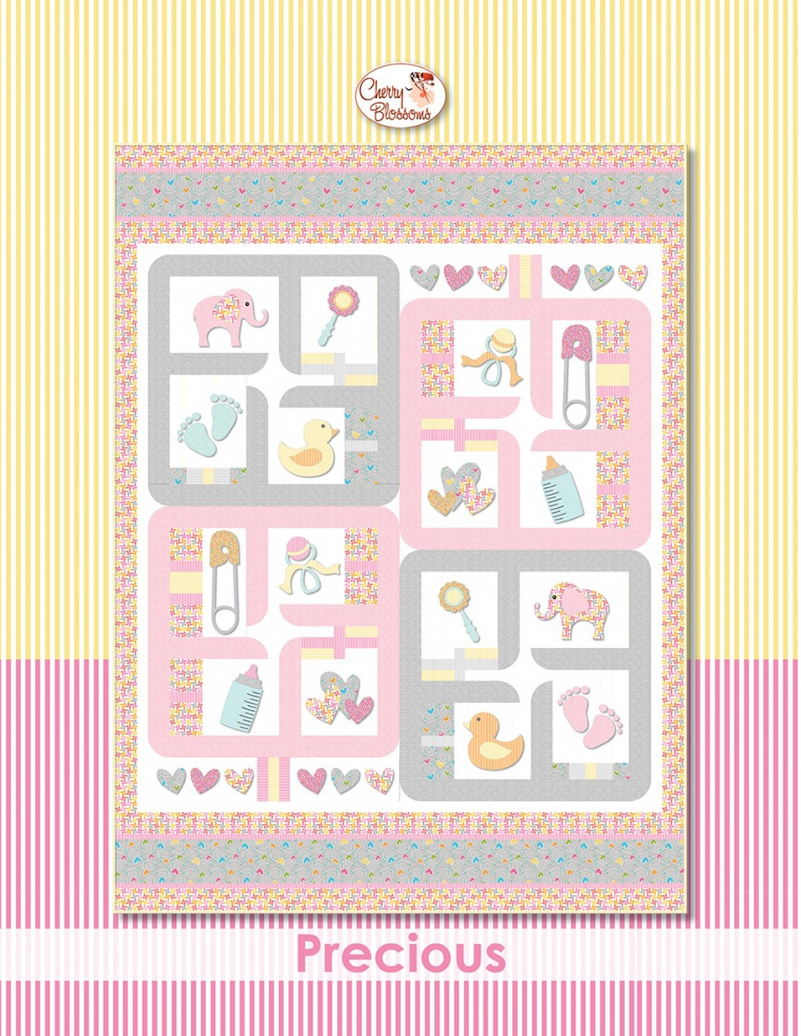 Precious Baby Quilt Patterns from Cherry Blossoms