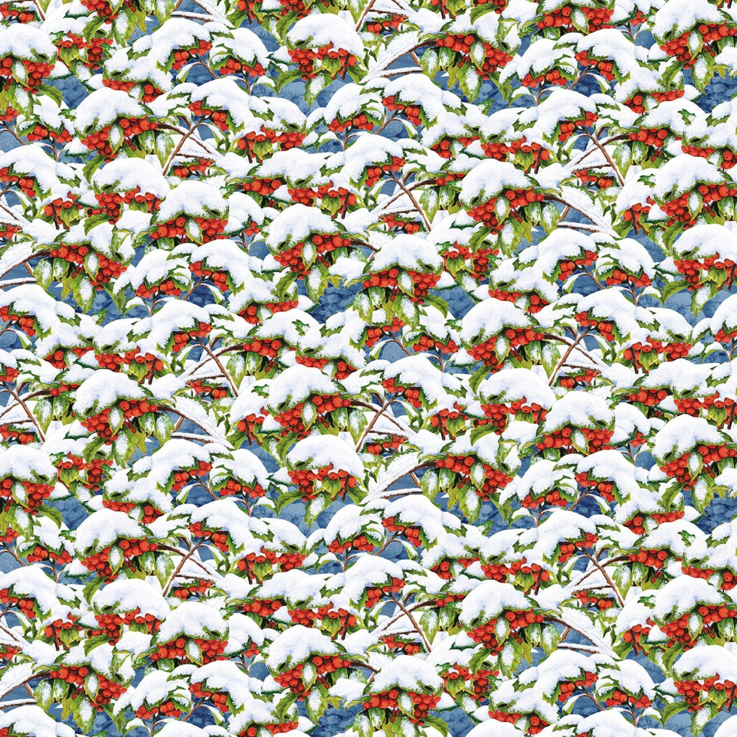 Quiet Bunny and Noisy Puppy Cotton Fabric