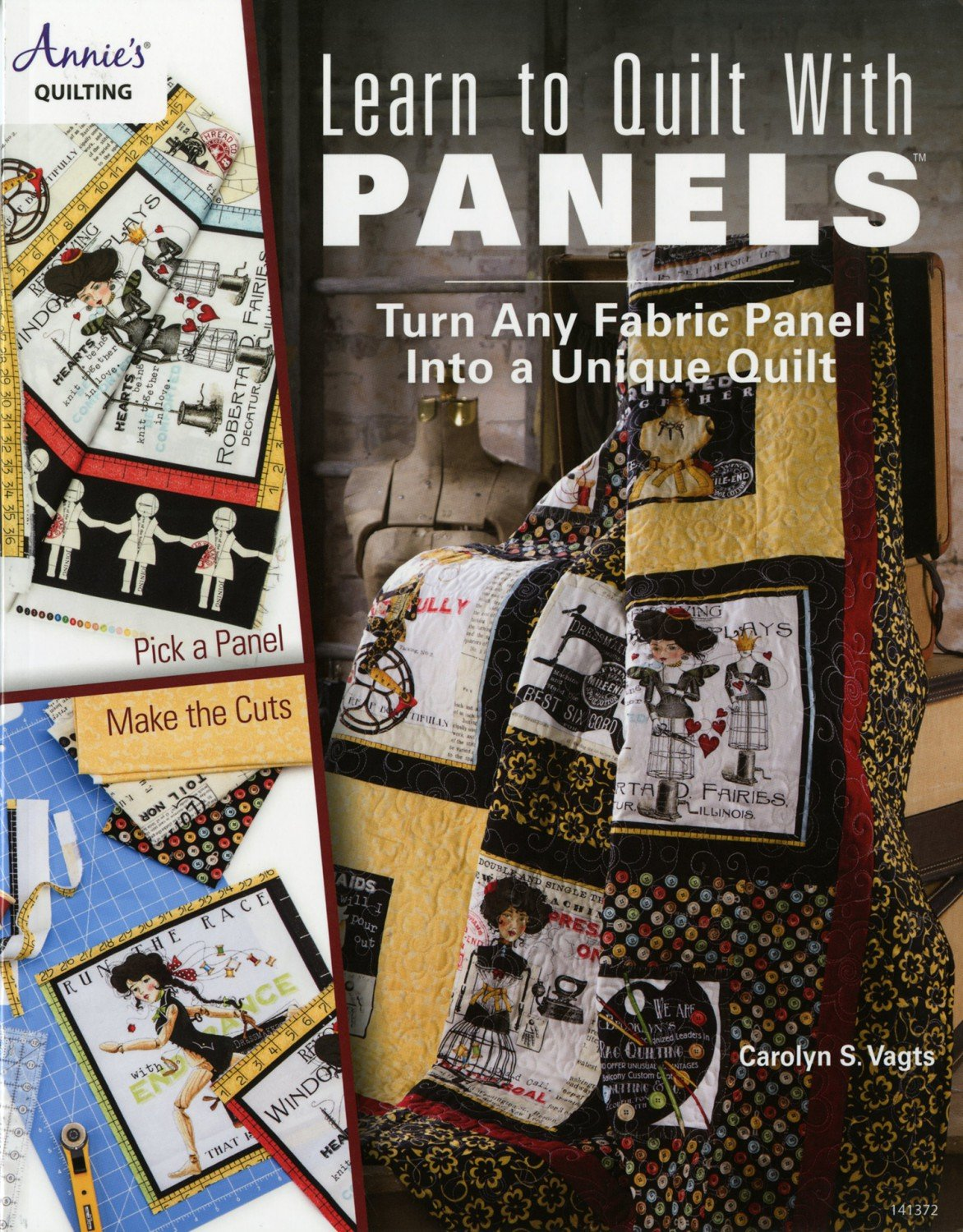 Quilting Book - Learn to Quilt With Panels - Softcover from Annie's