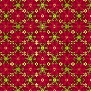 Santa's List Christmas Holiday Snowflake Theme Fabric Cotton