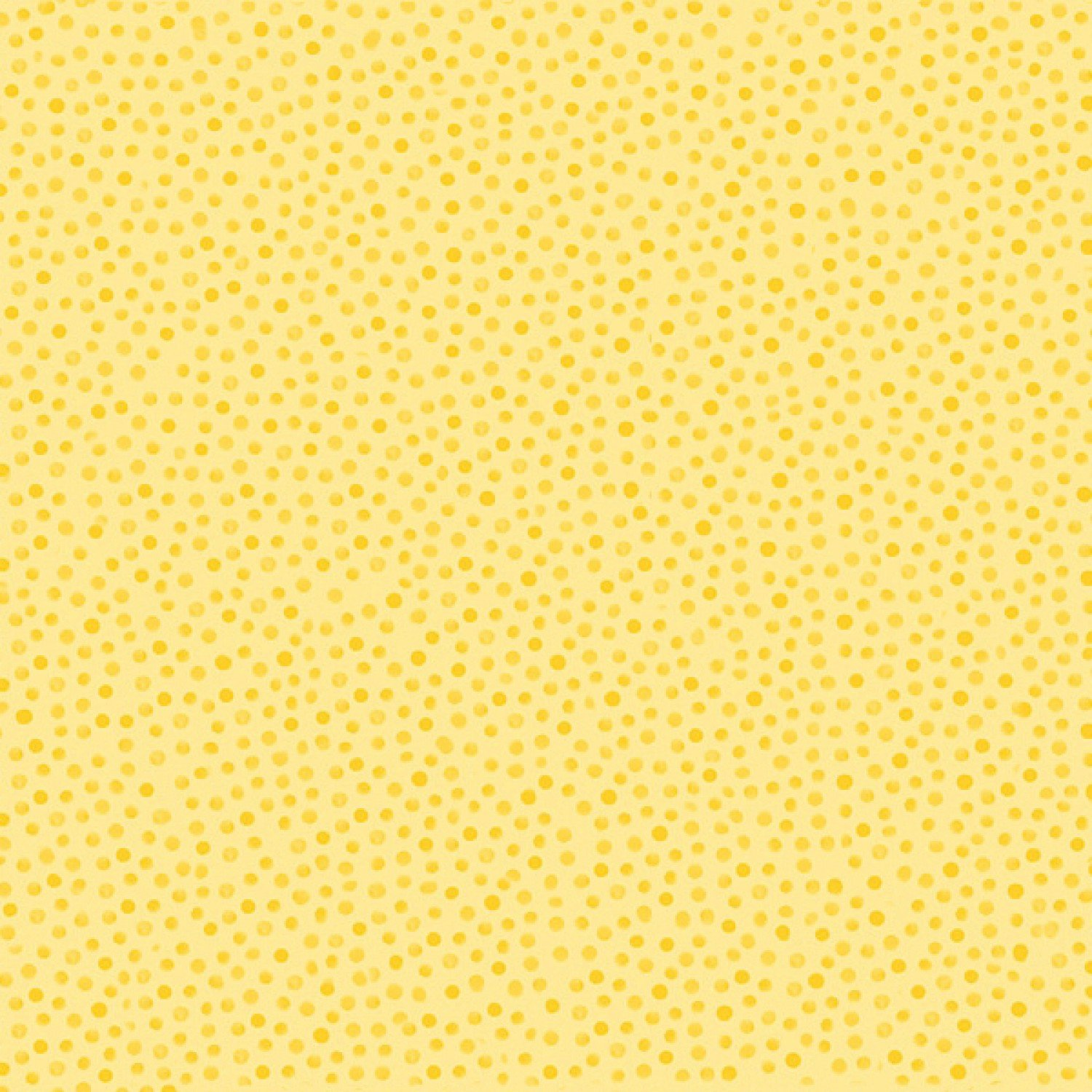 Susybee Fabrics Collection Yellow Tonal Dot Cotton 44 Inches Wide