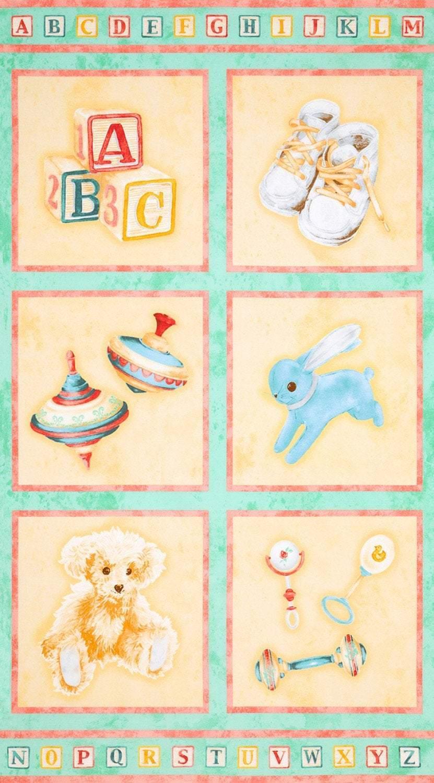 Sweet Baby  Children's Cotton Cloth Panel