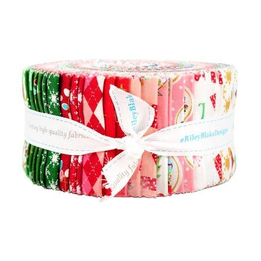 Christmas Adventure 2-1/2in Strips, 40pcs/bundle
